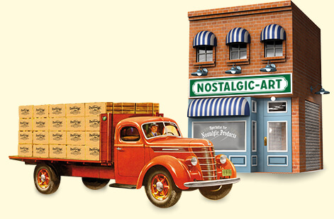 Blechschild Metallschild Merchandise vintage retro