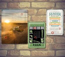 Metal Calendar Signs