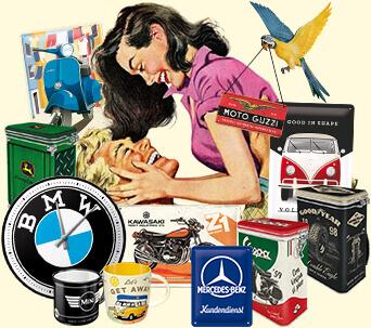 tin sign retro vintage nostalgic pin up