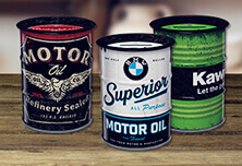 Money Box Oil Barrel