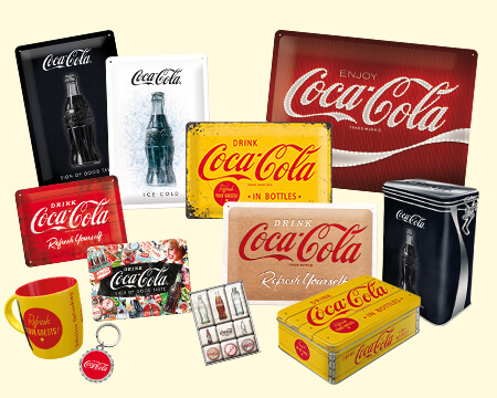 The iconoc Coca-Cola products by nostalgic-art