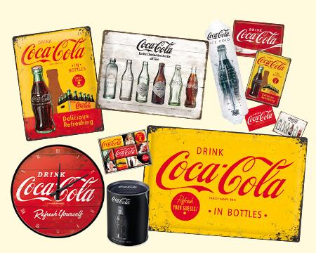 Werbeartikel von Coca-Cola Nostalgic-Art